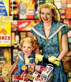 Supermarket Selections - 1946