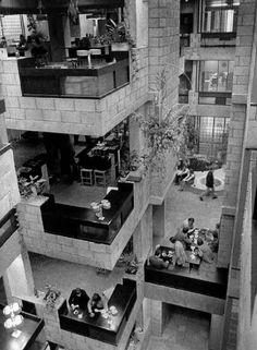 """Herman Hertzberger, Office Building """"Centraal Beheer"""" in Apeldoorn,1970. Nog…"""