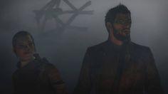 Alex Vega y Adam Jensen tras la explosión en la Estación de Tren - Deus Ex Mankind Divided. #DeusExMankindDivided #DeusEx #MankindDivided #PS4Share