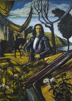Christos Athanassiadis, Untitled , oil on canvas , 210x151cm