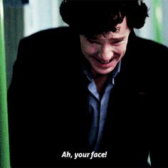 I literally died of laughter when I first watched this scene (sidenote: first I was crying until I realized sherlock was faking)