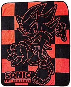 29f048350e7f7 Amazon.com  Sonic Hedgehog Shadow Blanket Goodies  Toys  amp  Games Sonic  Hedgehog
