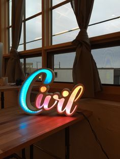 "Check out ""NeoPixel Sign"" by Kat Miller on MADE"