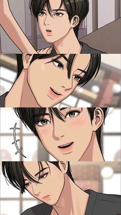 Suho, Anime Korea, Romantic Anime Couples, Angel Wallpaper, Crushing On Someone, Boy Illustration, Anime Warrior, Kawaii Wallpaper, True Beauty