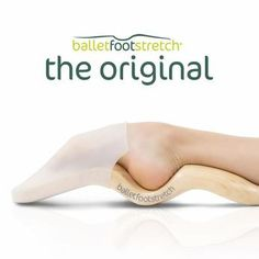 A new and effective foot stretcher for dancers. A personal portable tool to improve the feet of dancers and gymnasts. The Original and the only US Patent.