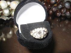 VINTAGE Ring Edwardian ANTIQUE Designed by NelliesTreasureTrove, $52.98