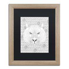 Trademark Art 'Animals 27' by Hello Angel Framed Graphic Art Size: