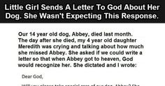 One Little Girl's Letter To God. This Is Amazing.