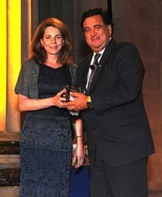Queen Noor & Governor Richardson