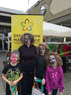 The 2nd Annual Downtown Maple Ridge Zombie Walk! This is a fundraiser for the local food drive that happens just before Halloween.