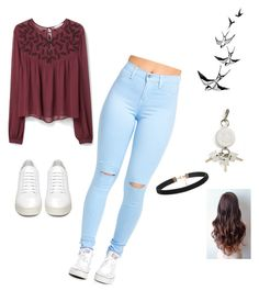 """""""Untitled #74"""" by arbaugh-madison on Polyvore featuring MANGO, Off-White, Alexander Wang, women's clothing, women, female, woman, misses and juniors"""