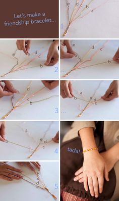 Forget what you learned at summer camp? No problem! This friendship bracelet tutorial will refresh your memory.