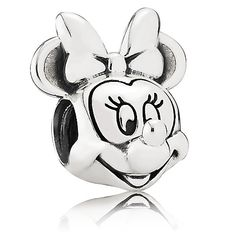 Minnie Mouse Portrait Charm by PANDORA