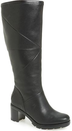 UGG ® 'Avery' Water Resistant Genuine Shearling Lined Leather Boot (Women)