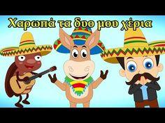 Χαρωπά Τα Δυο Μου Χέρια | παιδικά τραγούδια | Paidiká Tragoúdia Greek - YouTube Scooby Doo, Pikachu, Family Guy, Guys, Youtube, Fictional Characters, Fantasy Characters, Sons, Youtubers