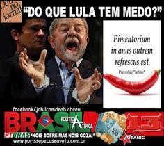 Disso Voce Sabia?: Também cansamos de mentiras e safadezas, Lula...