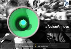 Next time you decide to parade around with a megaphone, just give us a heads up. We will either stay 10 Kms away from you or at least carry ear plugs. #NoiseAnnoys