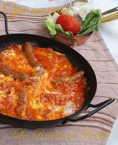 Ojja Merguez ;cuisine tunisienne