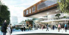 AURORA - Odense University Hospital & Faculty of Health Sciences :: Henning Larsen Architects