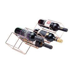 KitchenCraft Wijnrek 7 flessen