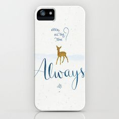 "26 Harry Potter Gifts That Will Cast a Spell Over Every Fangirl on Earth: Harry Potter ""Always"" Phone Case ($35)"