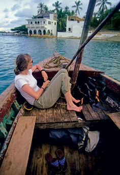 G is for Gypset  Gypsy-meets-jet set, as coined by modern nomad Julia Chaplin. Here, Lamu island, one of the destinations in her book Gypset Travel.