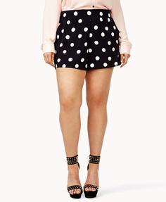 Polka Dot Shorts | FOREVER21 PLUS - 2035750454