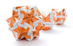 Sonobe variations | Name: Sonobe variation Units:30/12/12 no… | Flickr