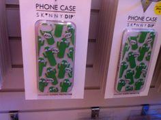 Cactus phone case from skinny dip Skinnydip London, Cactus, Phone Cases, Cover, Christmas, Shopping, Xmas, Navidad, Noel