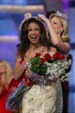 "2003  Erika Harold  Urbana, Illinois  Erika Harold spent her year as Miss America 2003 promoting her platform ""Preventing Youth Violence and Bullying: 'Respect Yourself, Protect Yourself.'"""