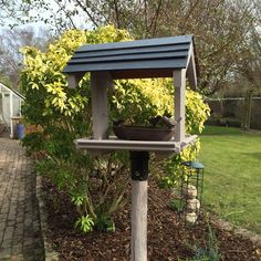 Bird table revamp