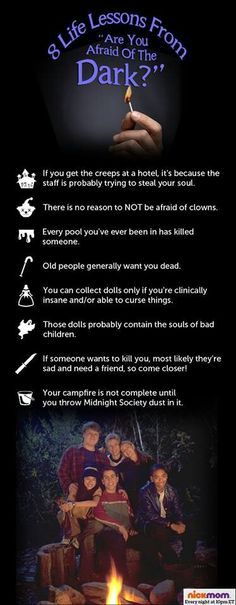 Lessons from Are You Afraid of the Dark