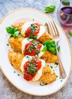 Baked Chicken Parmesan | Well Plated by Erin | Bloglovin'