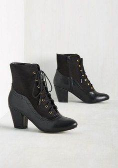 Granny boots are one of the biggest trends for fall. Try wearing these boots with your favorite pair of jeans.