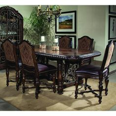 Found it at Wayfair - Valencia 7 Piece Dining Set