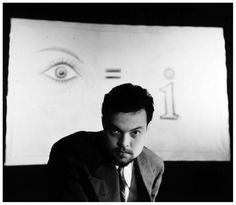 The master Orson Welles.