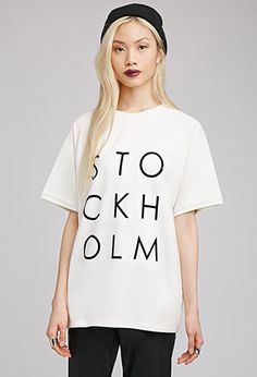 Stockholm Graphic Top   FOREVER21 - 2000053095