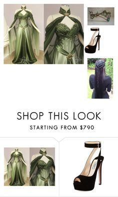 """my wedding"" by merlinluvr22 ❤ liked on Polyvore featuring Prada"