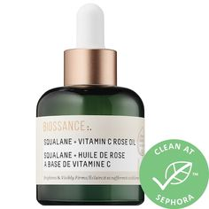 Shop Biossance's Squalane + Vitamin C Rose Oil at Sephora. This luxurious face oil brightens, firms, and evens the look and feel of skin. Sephora, Oily Skin Care, Skin Care Tips, Skin Tips, Vitamin C Oil, Mastic Gum, Rose Oil, Uneven Skin, Even Skin Tone