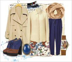Zestaw ubrań zestaw z klasycznym trenczem  Classic trench coat - outfit