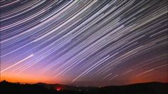 Star trails at dawn, Dec. Time Lapse Photography, Nature Photography Tips, Types Of Photography, Photography Tutorials, Space Wallpaper, More Wallpaper, Night Skyline, Star Trails, Day And Time