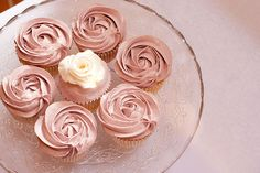 This is so gorgeous. I need to find a tutorial for how to frost cupcakes like a rose.