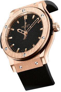 Швейцарские часы Hublot Gold CLASSIC FUSION 501.PX.1180.RX - золотые часы мужские, наручные часы