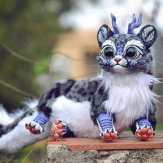 Фантастические животные, рождённые фантазией испанского скульптора Изабель Томас