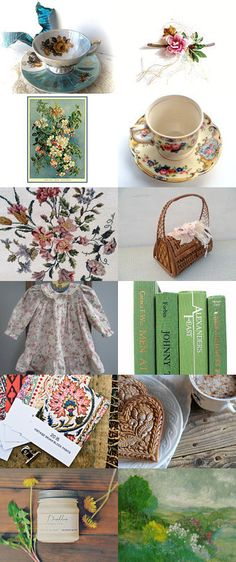 Spring Fever by NouveauVintageGoods on Etsy--Pinned with TreasuryPin.com