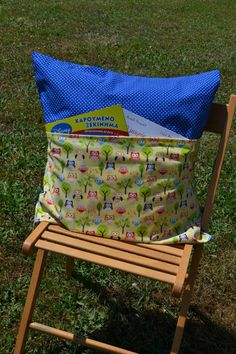 Sewing tutorial: Activity pillow for kids
