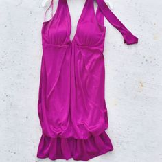 Alyn Paige Satin Party Dress