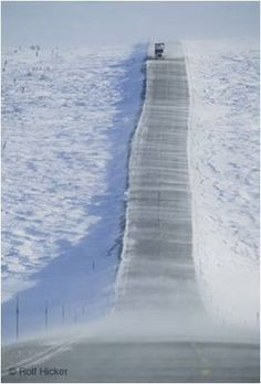 James Dalton Highway (Alaska) . One of the most dangerous roads in the world .