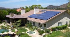 A Sunrun system installed in Thousand Oaks, CA