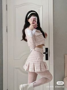 Korean Girl Fashion, Ulzzang Fashion, Kpop Fashion Outfits, Stage Outfits, Girly Outfits, Cute Casual Outfits, Asian Fashion, Pretty Outfits, Stylish Outfits